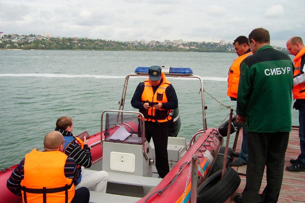 Права на лодку в Казани